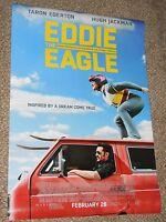 EDDIE THE EAGLE - Original Movie Theater Poster D/S 27x40 - Jackman - Egerton