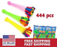 Bunch O Balloon 444 Pcs Rapid Filling Self Sealing Instant Water Balloons 4 Pack