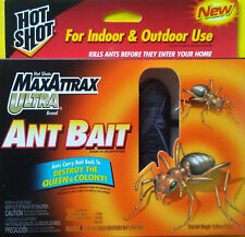 4 / $ 8 — FREE S&H ! — HOT SHOT — MAXATTRAX ULTRA — ANT BAIT STATIONS — 4 PACK
