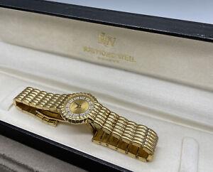 Raymond Weil Geneve Armbanduhr   18 Karat Vergoldet   Nabucco