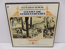 Country & Western Favorites Our Century in Music Vinyl 3 LP Set