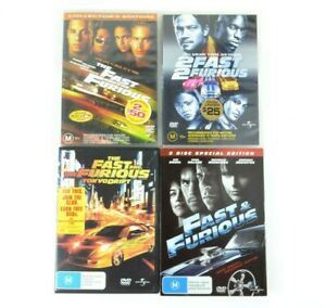 The Fast And The Furious 1 2 3 & 4 Film Box Set