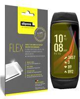 3x Samsung Gear Fit 2 Pro Film de protection d'écran, recouvre 100% de l'écran,