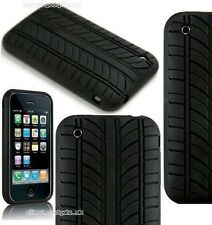 Apple iPHONE 2G / 3G / 3GS Silicone Tyre Tread Case Cover - UK SELLER FREE POST