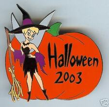 Disney TINKER BELL Witch Halloween Silver Prototype LE4