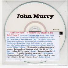 (EG828) John Murry, Southern Sky - DJ CD