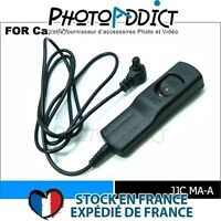 JJC MA-A_1000 - Télécommande filaire 10 mètres type Canon RS-80N3