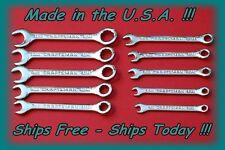 Craftsman USA 10 Piece Combo Metric MM Ignition Small Midget Mini Wrench Set