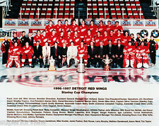 Detroit Red Wings Stanley Cup Champions 1996-97 Team