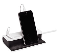iPhone Android Desktop Charging Station Tablet iPad USB Extension Lead SoftTouch