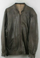 Mens Oakleaf Real Leather Jacket size See Description