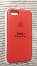 """New Authentic Apple Silicone Case for iPhone 7 / 8 (4.7"""") - (PRODUCT) Red"""