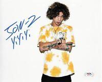 Jon-Z signed 8x10 photo PSA/DNA Autographed Rapper