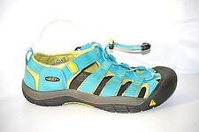 KEEN WaterProof Aqua Blue Womens Bungee Cord Laced Hiking Shoes Size 6