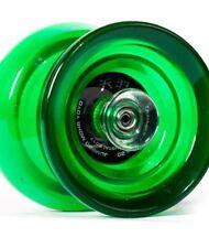 Mohr Retro Play Fiber Glass Jelly Alloy Yoyo Competition Mohr Yoyo Green