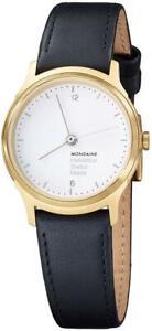 Mondaine Helvetica No1 Light Quartz watch, PVD, White, 26 mm. MH1.L1111.LB