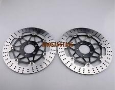 Front Brake Disc Rotor For KAWASAKI ZR550 ZR750 Z750 ZZR600 Z1000 ZX6R/9R/12R
