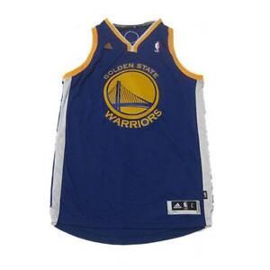 NEW NBA Golden State Warriors Basketball Jersey Swingman Royal Blue Large