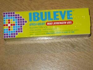 IBULEVE SPEED RELIEF MAX STENGTH  Pain Relief Gel - 40g Expiry  2023
