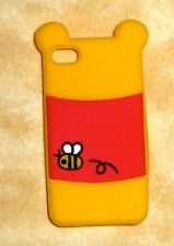 winnie the pooh iPhone apple 4/4s case cover silicone disney yellow usa seller