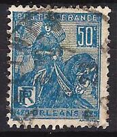 Francia 1929 Jeanne d'Arc Yvert nº 257 matasellado 1er elección (3)