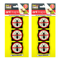 3pk/ 6pk Ant Trap Bait Stop Ants Killer Nest Station Glue for Outdoor and Indoor