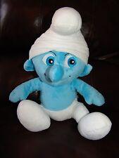 "Build a Bear The Smurfs Boy Smurf Plush Doll 16"""