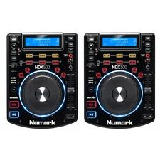 Numark NDX500 USB/CD/MP3/MIDI Media Player & Software Controller PAIR