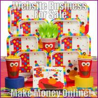 PARTY SUPPLIES Website Earn £21 A SALE|FREE Domain|FREE Hosting|FREE Traffic