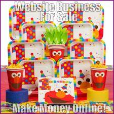 Party Supplies site gagner £ 21 A vente | libre Domaine | Free hébergement | libre trafic