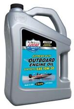 LUCAS OIL Fully Synthetic SAE 10W30 Outboard Engine Oil FC-W - 4.54 Litre 10812A