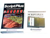 Script / Plus für C16/116/Plus/+4   Commodore Modul Cartridge boxed (SCRIBO)