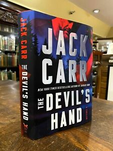 SIGNED 2021 Jack Carr The Devil's Hand - First Edition, First Printing
