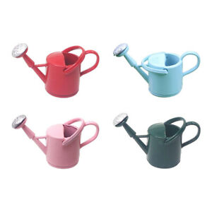 1/12 Dollhouse Miniature Metal Watering Can Water Kettle Kitchen Furniture