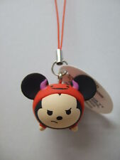 Halloween Mickey type-C Strap Figure Key Chain Disney Tsum Tsum Arcade UnReg