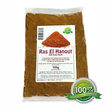 RAS EL HANOUT WITH RED ROSE PETALS 100g - Highest Premium Quality