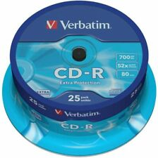 Verbatim CD-R Extra Protection, 25 Pack Spindle