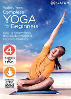 Rodney Yee's Complete Yoga for Beginners DVD Fitness Workout Exercise Video NEW