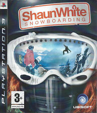 SHAUN WHITE SNOWBOARDING for Playstation 3 PS3