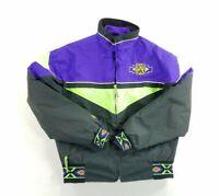 Vintage Arctic-Wear Arctic Cat Mens Snowmobile Jacket Coat Removable Lining sz M