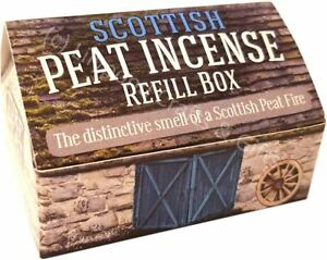 Scottish Peat Incense REFILL Box for Croft/Cottage/Burner