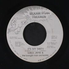 KARLA JAYNE: It's My Party / You're Only Using Me 45 (sm stain ol, Disco) Soul