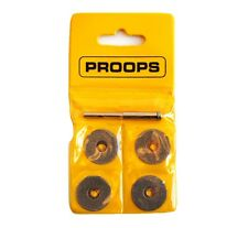 "4x 20mm Diamond Cutting Disc Set with 3.20mm 1/8"" Arbor Suit Dremel Proxon X1207"