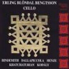 CD ERLING BLÖNDAL BENGTSSON - WORKS FOR SOLO CELLO / comme neuf