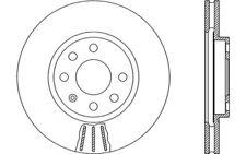 2x OPEN PARTS Discos de freno delanteros Ventilado 260mm BDA1880.20