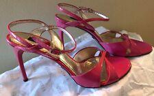 WOW DOLCE GABBANA D&G Stiletto HOT PINK High Heels Stilettos 100% Authentic