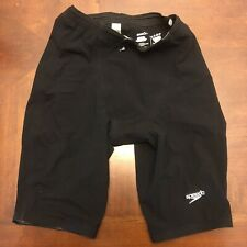 Speedo Men's LZR Racer Elite 2 Jammer Size 27 Black Tech Suit Fastskin Swim