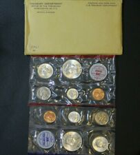 1961 Us Mint Set Philadelphia And Denver Coins Original Packaging -No Coa