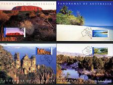2001 Panoramas International Maxi Cards Prepaid Postcard Maxicards Australia