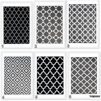 New Modern Trellis Moroccan Rug Geometric Pattern Contemporary Design Area Rugs